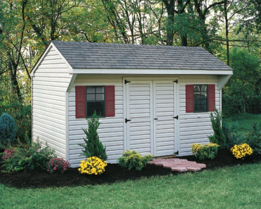 1000 images about gartenhaus shed on pinterest for Quaker barn home designs
